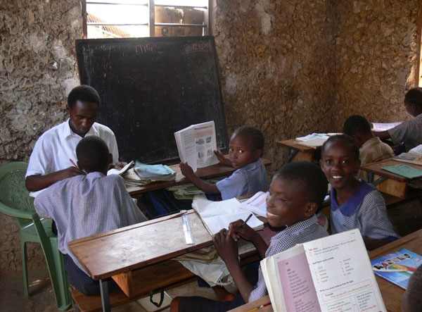A Typical Classroom on the GVI Volunteering Experience